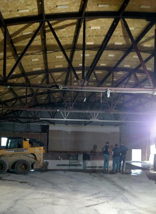 Multi-phase renovation project at Jr. Fair Building